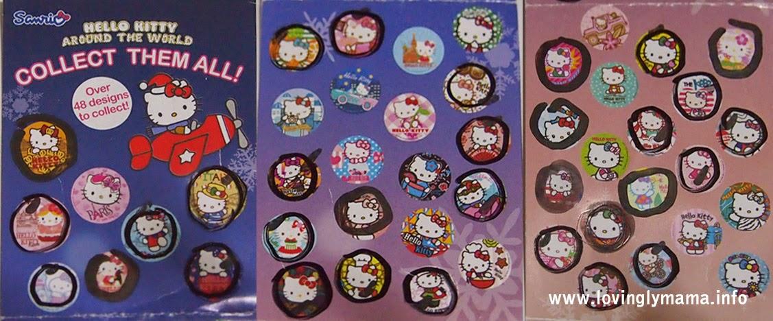 Hello Kitty Around the World Badges