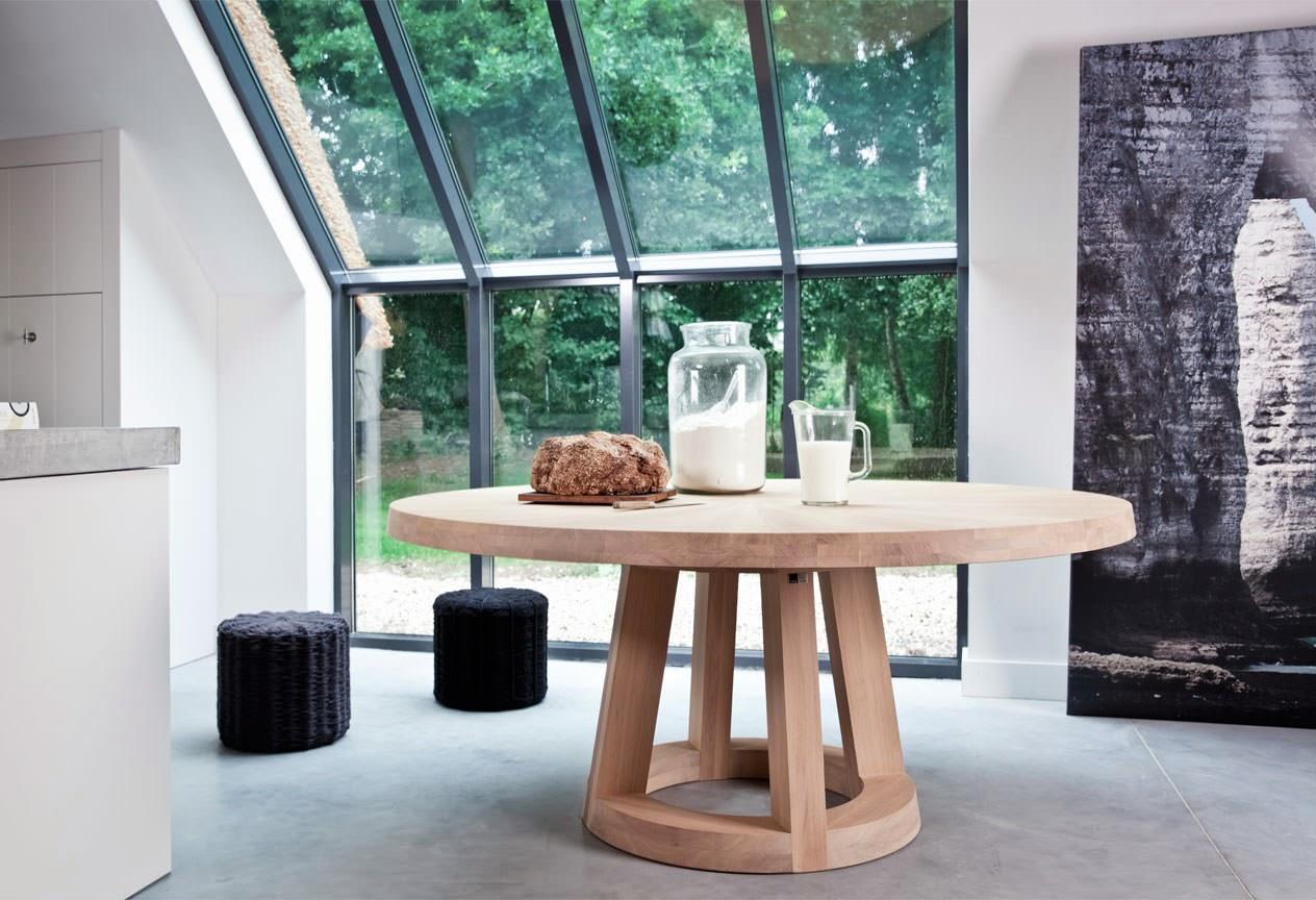 Eetkamertafels de mooiste design tafels voor thuis solid