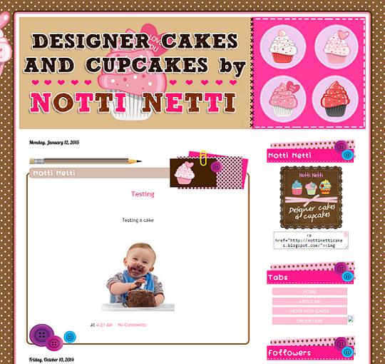 Tempahan : Designer Cakes by Notti Netti