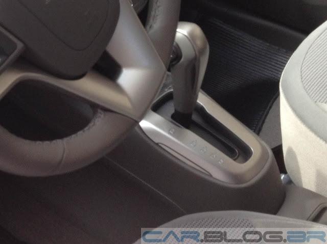 Chevrolet Cobalt - manopla de transmissão automática