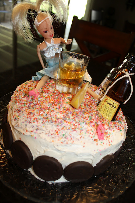 Barbie Ken Doll Cake