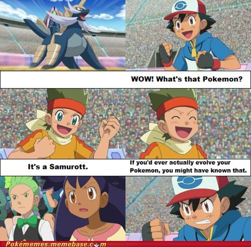 Finally Ash evolves Pikachu into Raichu