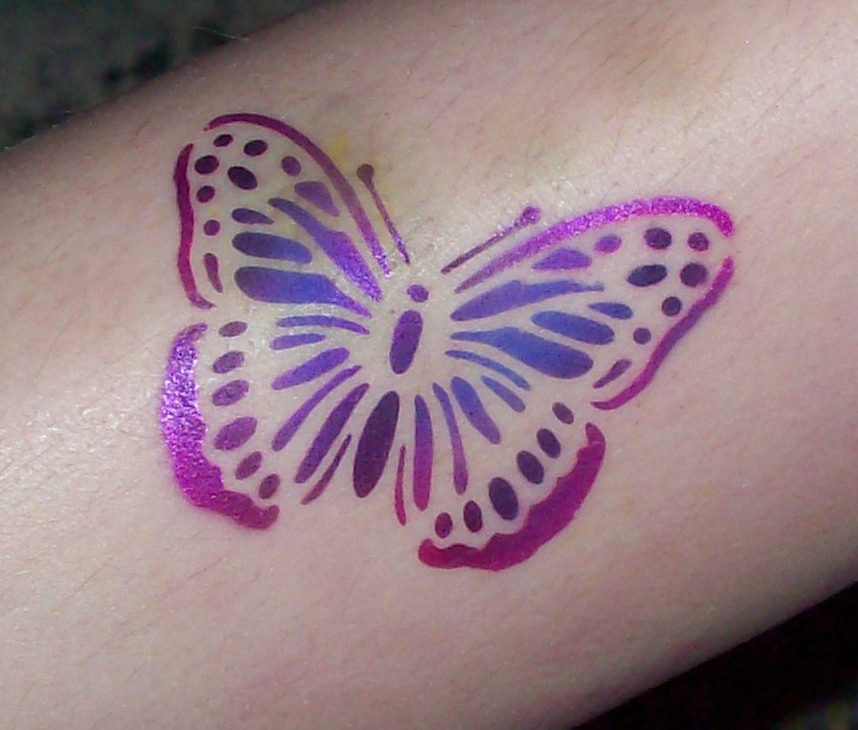 Airbrush tattoo how long does it last