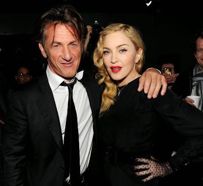 Madonna  y  Sean Penn de fiesta