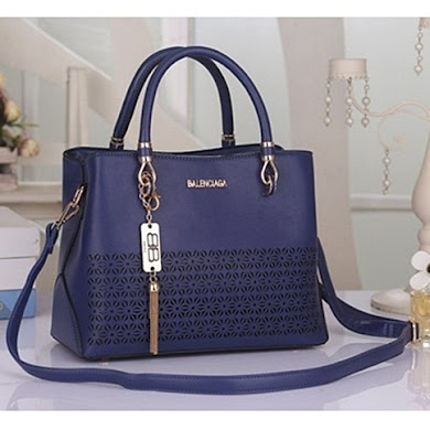 BALENCIAGA DESIGNER BAG - NAVY BLUE