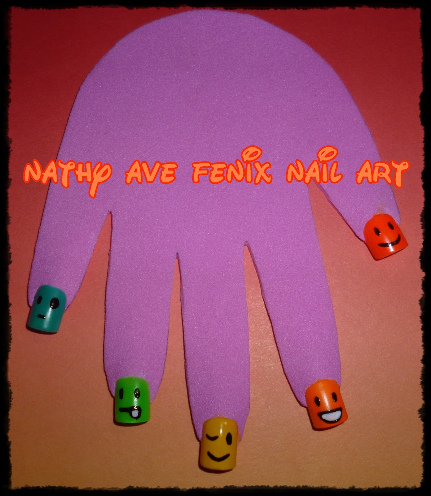 Nail Art Pik Avenue: NATHY AVE FENIX NAIL ART: INFANTILES: DIA 6 DEL RETO