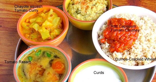 how to make tomato and capsicum chutney