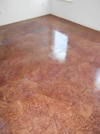 Decoupage Flooring