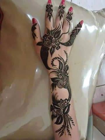Best henna bridal designs