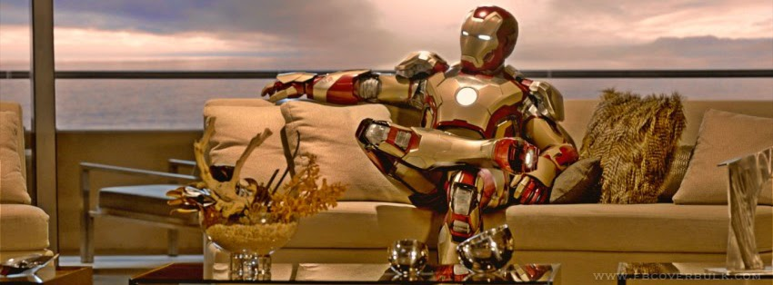 Iron Man 12 Facebook Timeline Cover