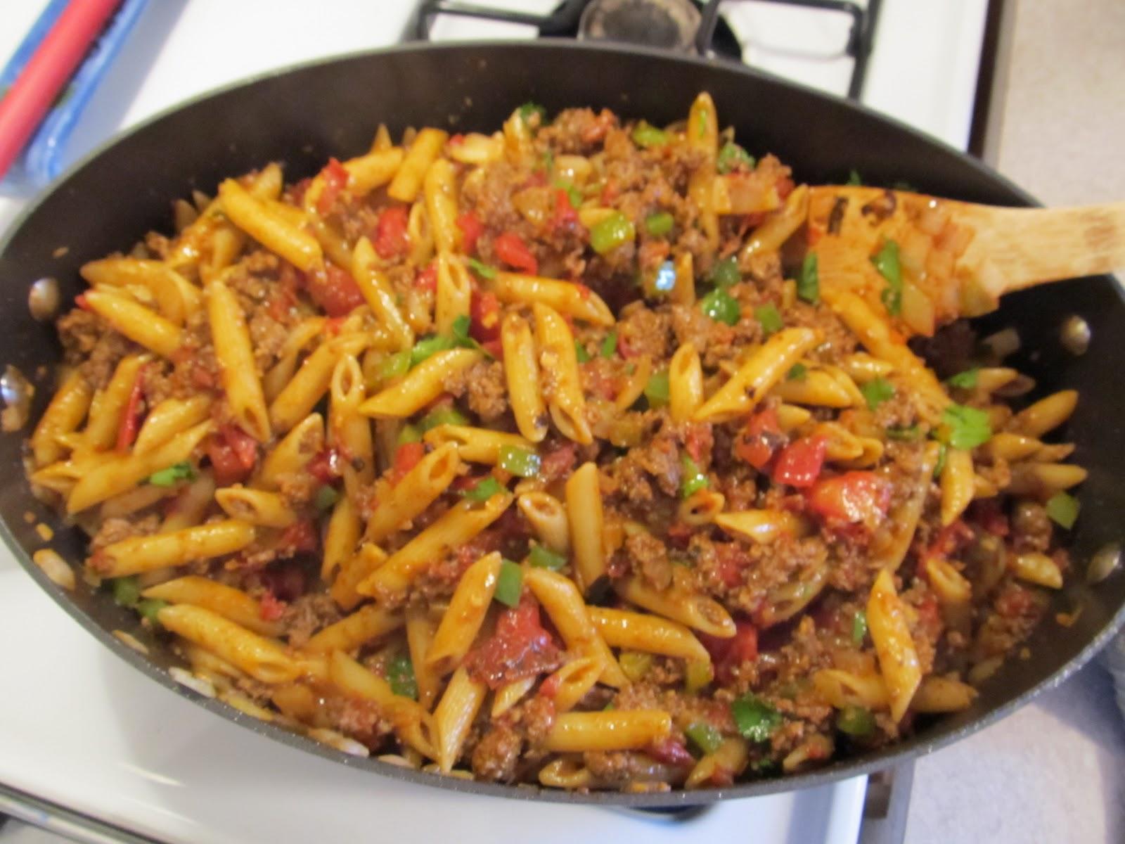 BS Recipes: Taco Pasta