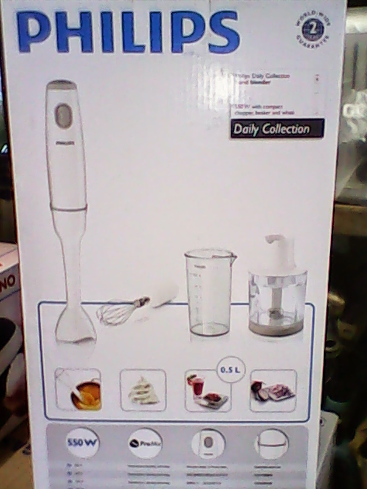 Sentral Gas Harga Hand Blender Philips HR 1603