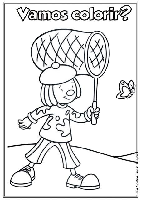 Desenho de Dia do Circo para colorir - Jojo Circus