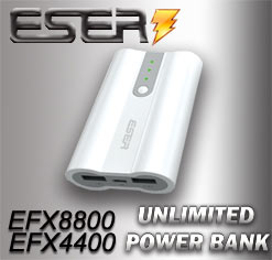 ESER Unlimited Power Bank