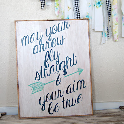 May your Arrow Sign - Averie Lane Boutique