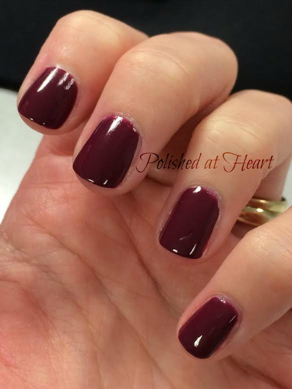 fall berry polish