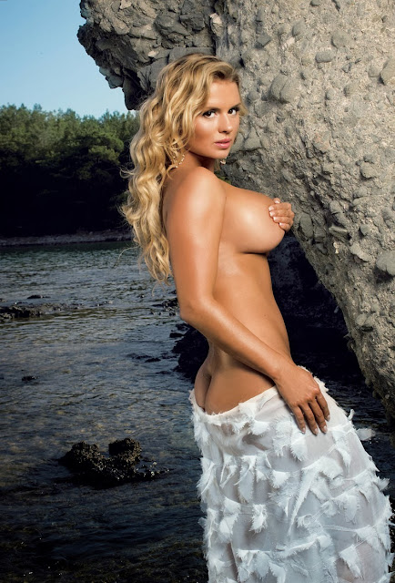amazing hot russian Anna Semenovich topless big boobs