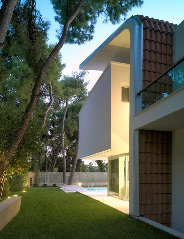 World Of Architecture Kostala House By Thanos Athanasopoulos