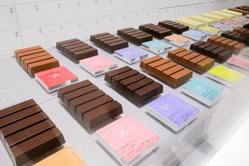 Chocolatería BbyB Ginza de Nendo