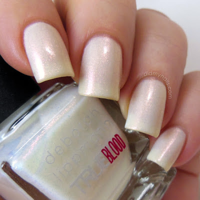 Deborah Lippmann Fairy Dust swatch