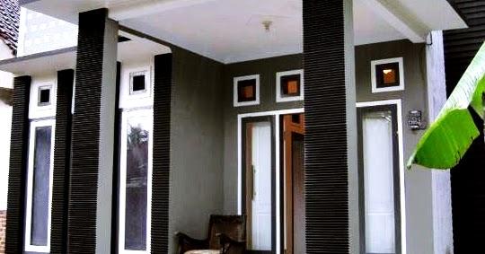 gambar desain teras rumah minimalis modern