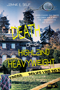 a crime scene is shown on the cover.
