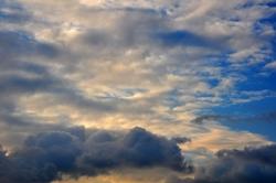 Der gelückte Himmel...