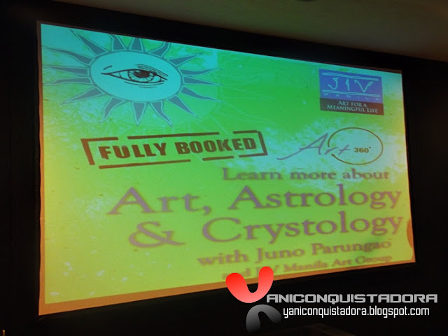Art, Astrology & Crystology with Juno Parungao and JIV Manila Art Group