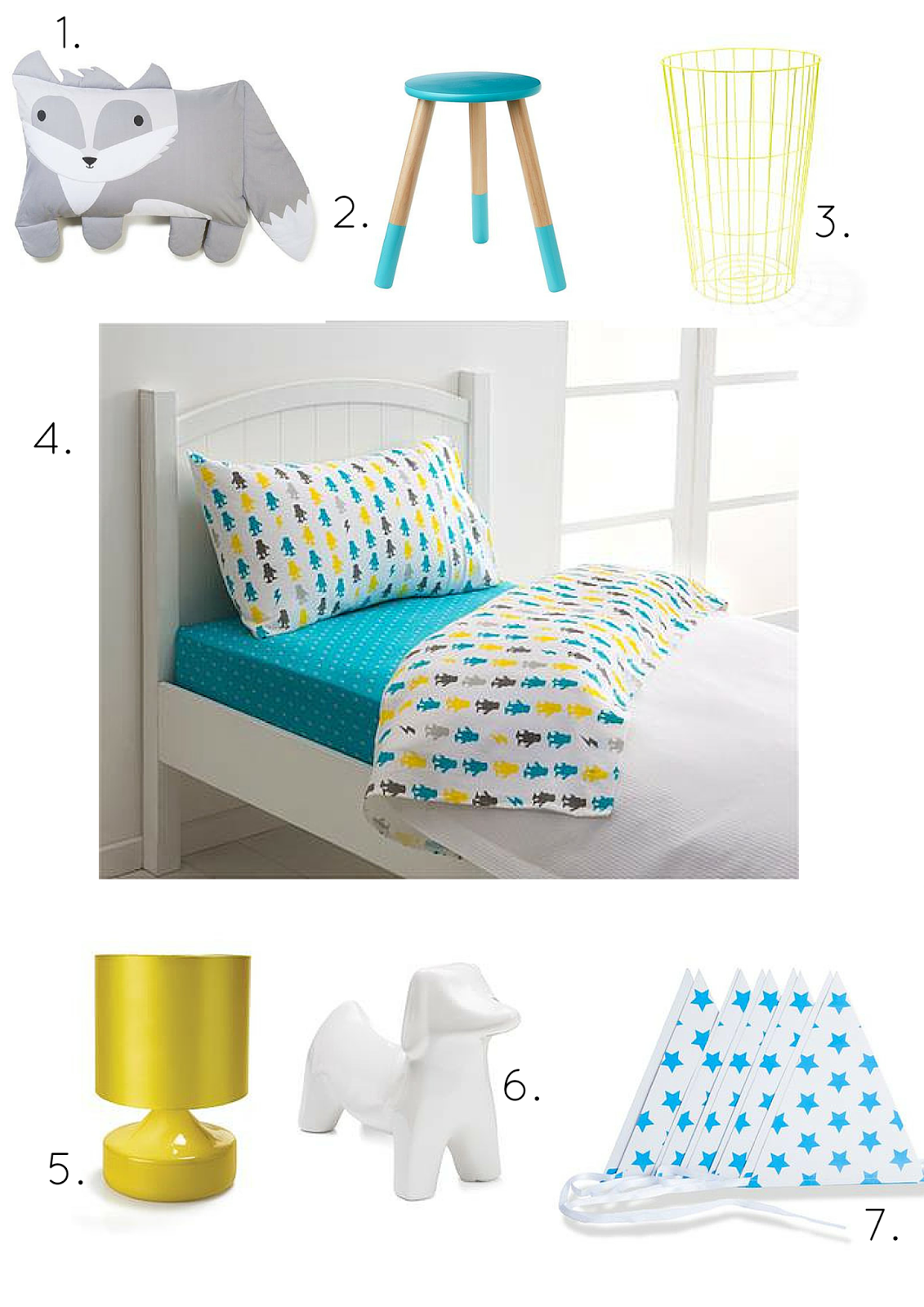 Styling kids rooms on a kmart budget glamour coastal living for Living room ideas kmart