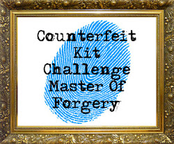 I'm on the DT at Counterfeit Kit Challenge Blog