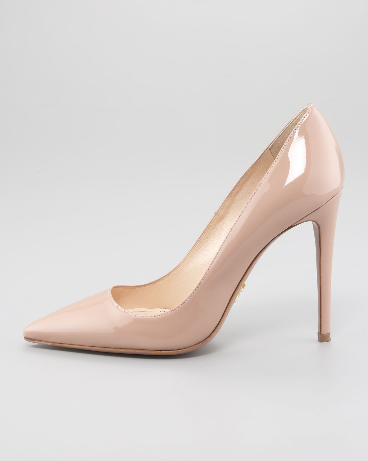 JIMMY CHOO Nude Bridget Leather Pumps. Shipping: Shipping fees are calculated based upon the subtotal of the merchandise ordered.
