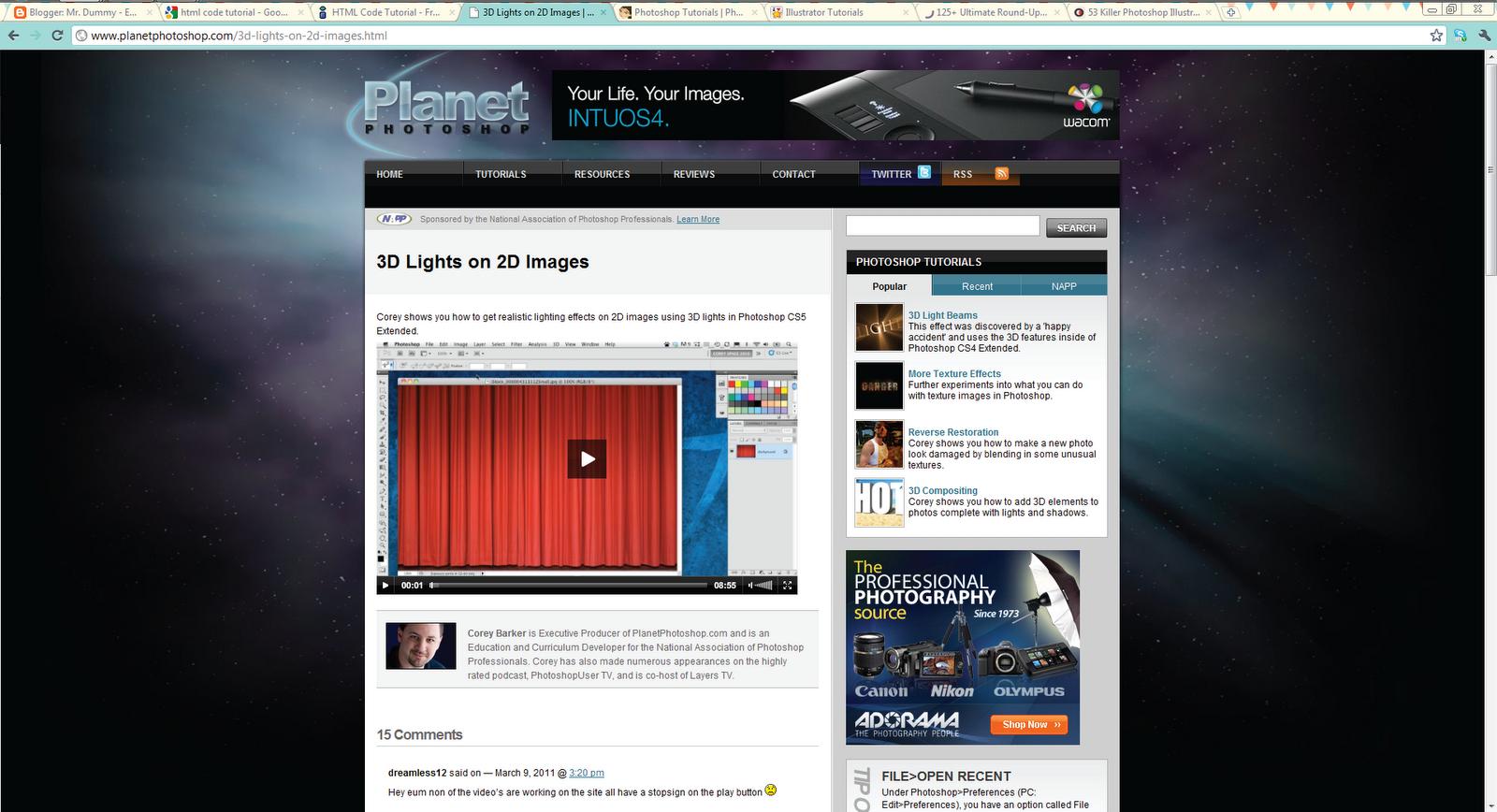 Best PSD to HTML Tutorials