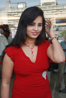 Hasika Spicy Tamil Babe in Red Gown spotted at Kadhal Payanam Audio Launch