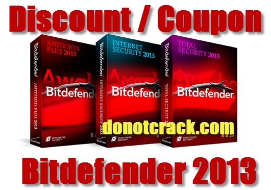 Discount coupon for bitdefender