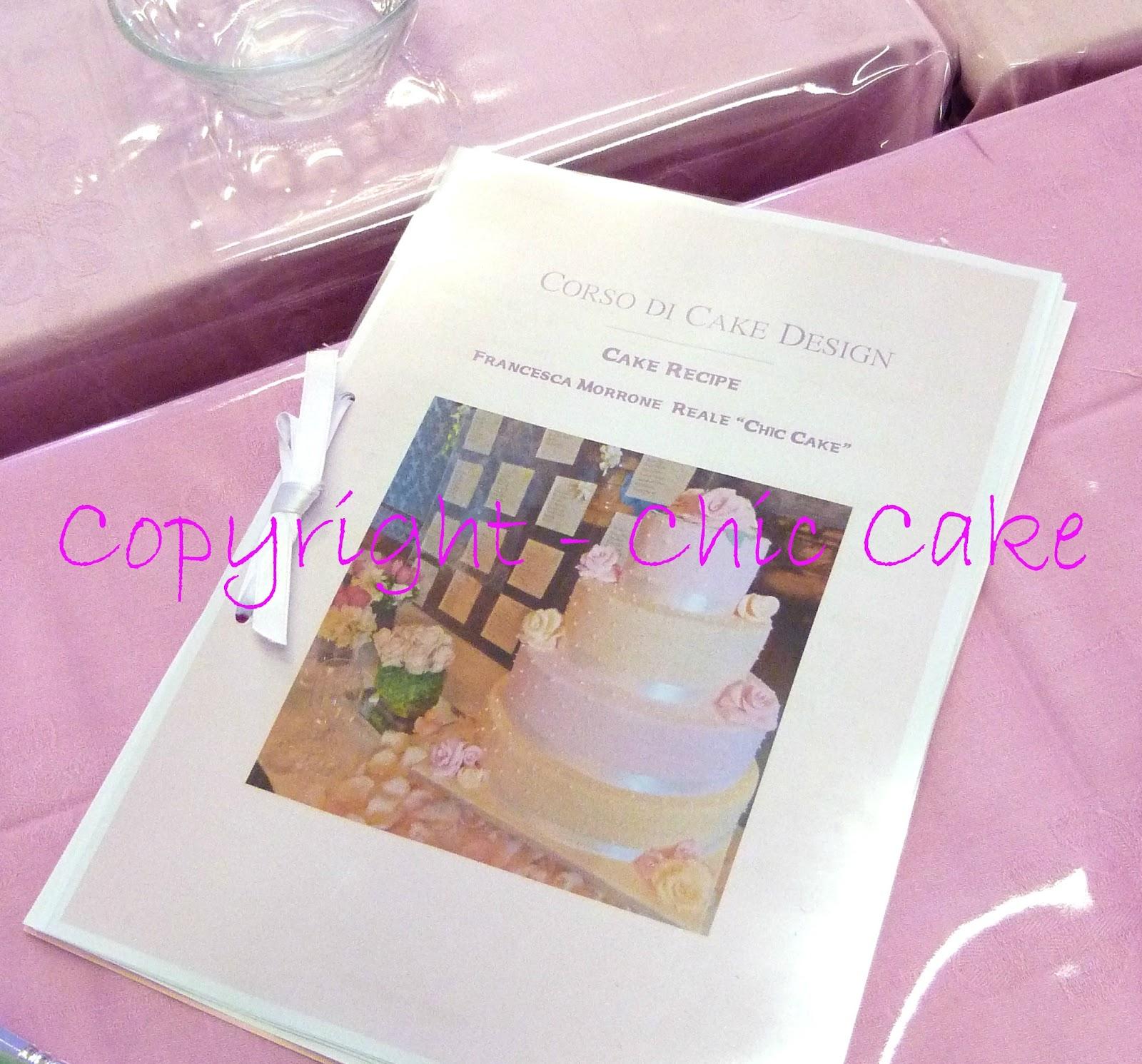Corso di cake design da chic cake su akkiapparicette for Corso di designer