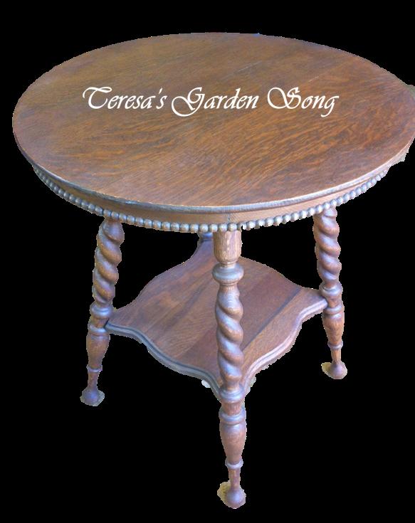 Teresa 39 S Garden Song Barley Twist Antique Furniture