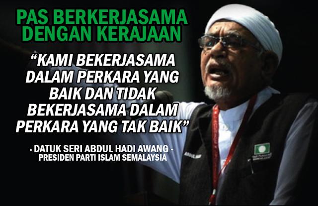 """""""PAS Tetap Kekal Bersendirian"""" - TG Abdul Hadi Awang"""