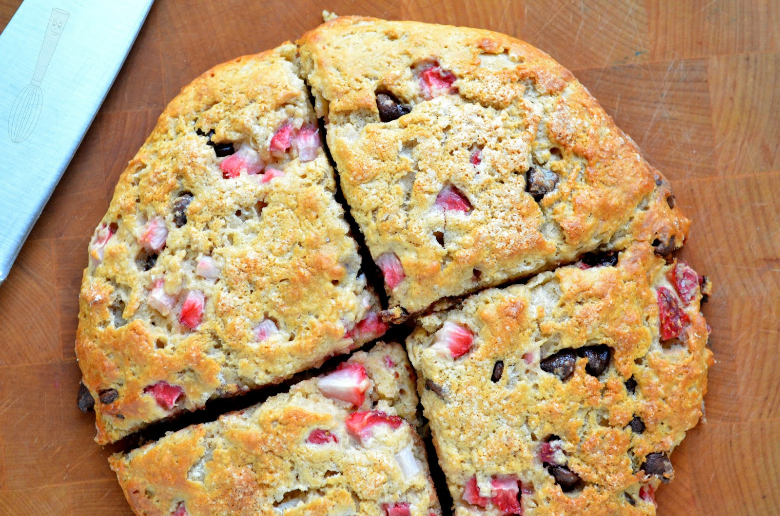 ... low fat strawberry scones strawberry ricotta scones strawberry