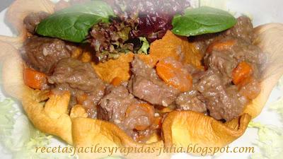 Estofado de carne