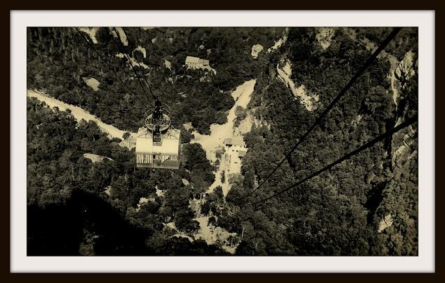 teleferico sant jeroni montserrat monasterio