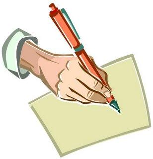 menulis surat