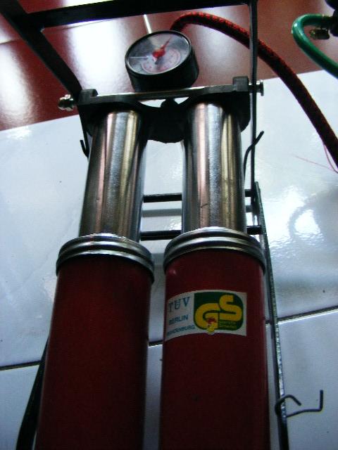 DIY : Modif dan perbaiki pompa angin kaki