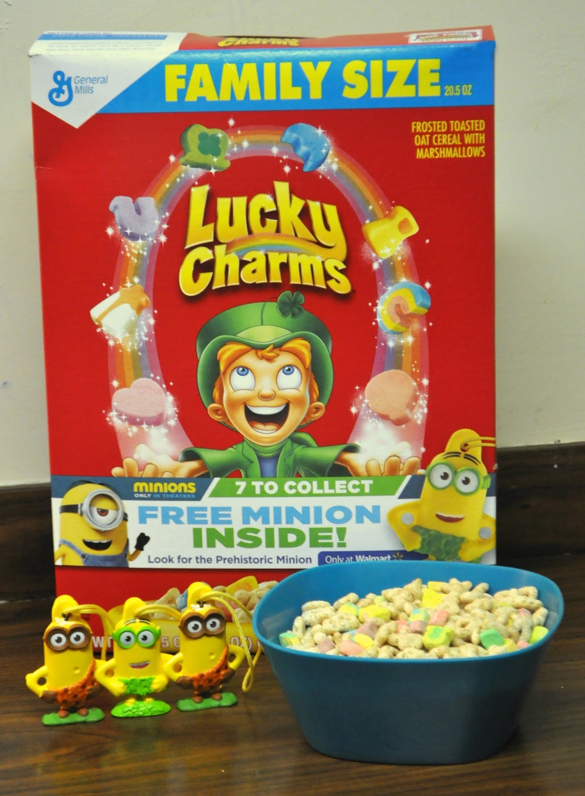 Bowl Of Lucky Charms Side