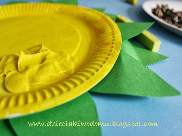 słonecznik kreatywnie dla dzieci