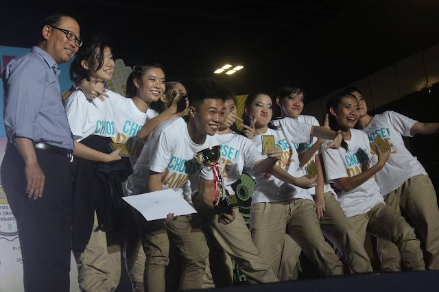 2015 DanceWorks! Winner for CAT II - D'Movement