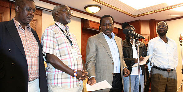 Cord election results 2013 Kenya
