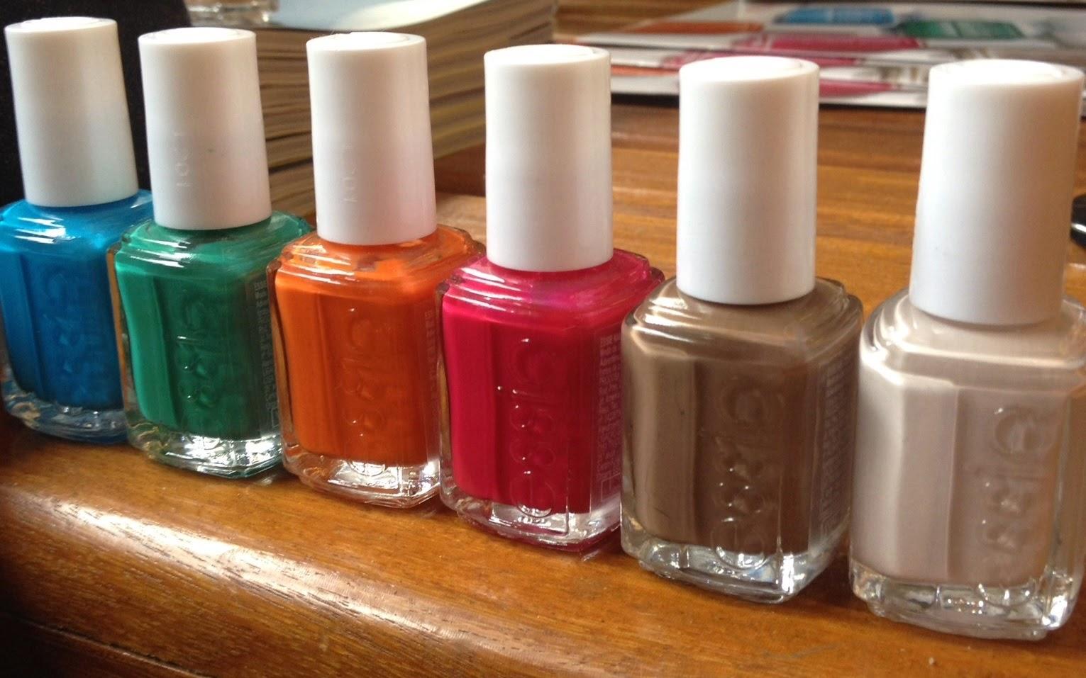 mão feita, esmalte, vernis, nailpolish, essie, tendência, lançamento, summer 2015, verão, pink, coleção, novidades