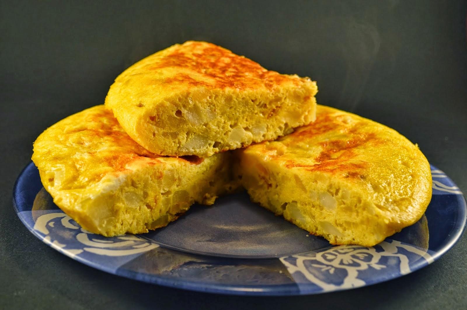 Tortilla de patata esponso