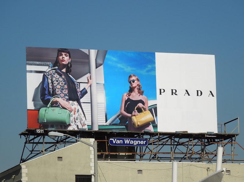 Prada Spring 2012 billboard