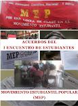 Acuerdos del I Encuentro de Estudiantes, febrero de 2017
